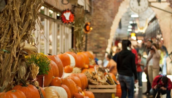 Holiday Markets in New York